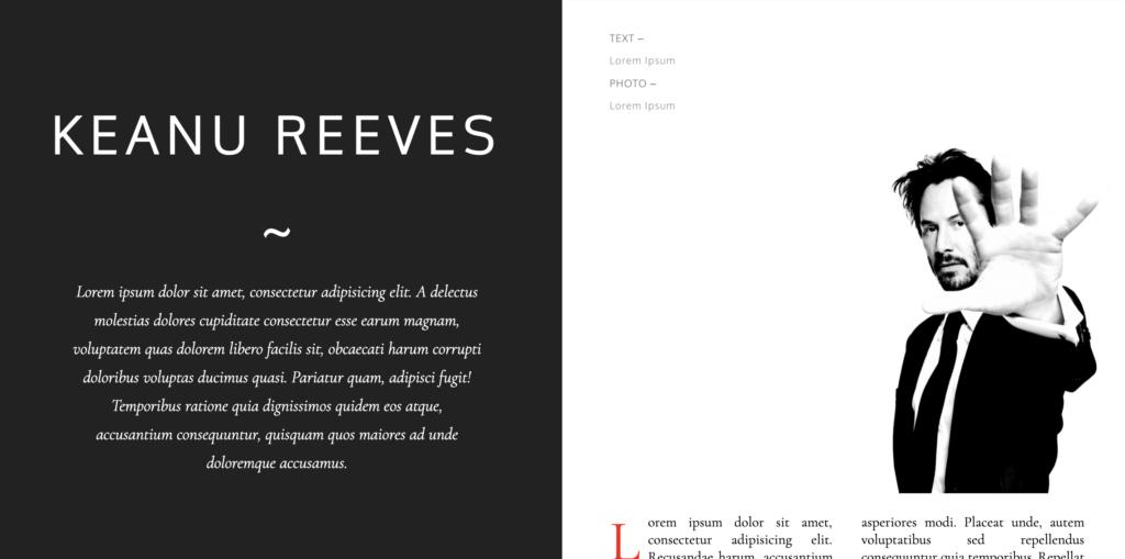 Split Screen Web Design 24