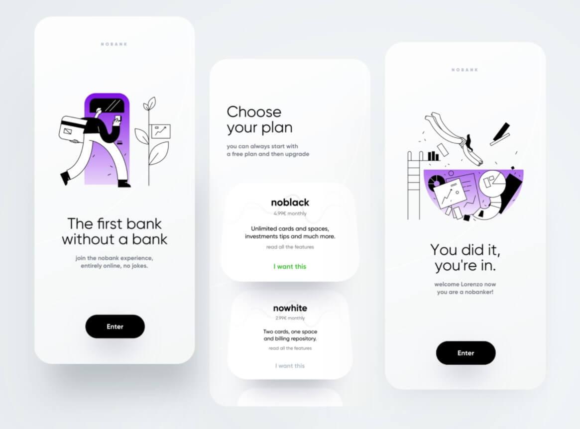 App design trends 2021 • Best app design   Fireart