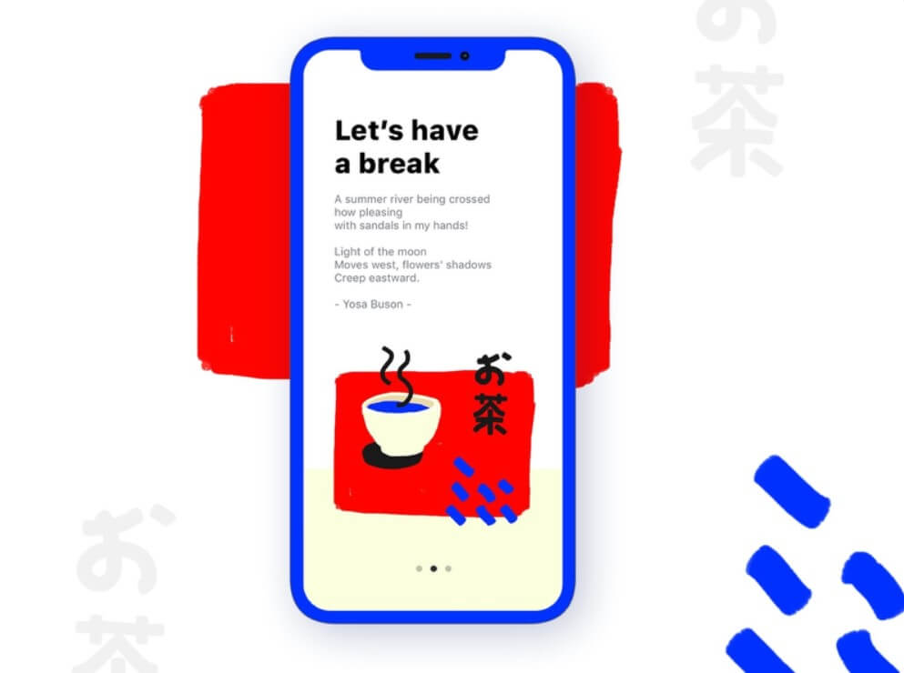 Japanese Minimalism in UI Design for Digital Products 22