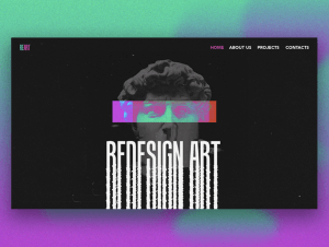 Aesthetics of The Past Reacts to Modern Digital Turmoil: Extraordinary Graphic Design Trends 20