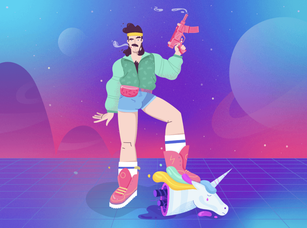 Trending Illustration Styles for 2021: Reflecting The Epoch 27