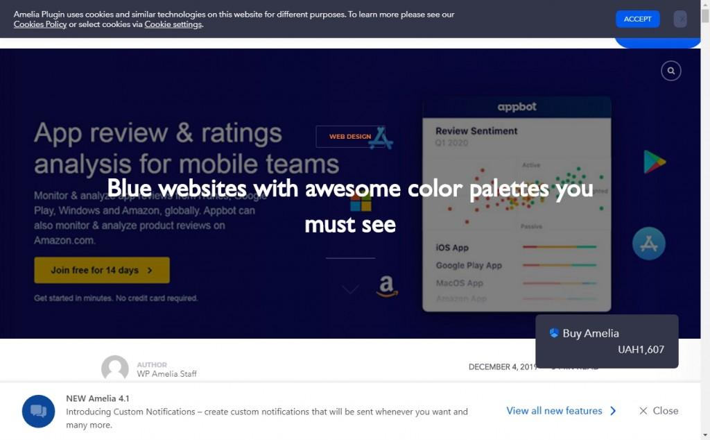 Dark Blue Color Website Design Inspirations 17