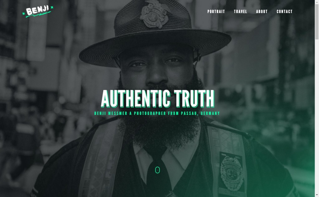 Blue and Green Web Page Design Inspirations 17