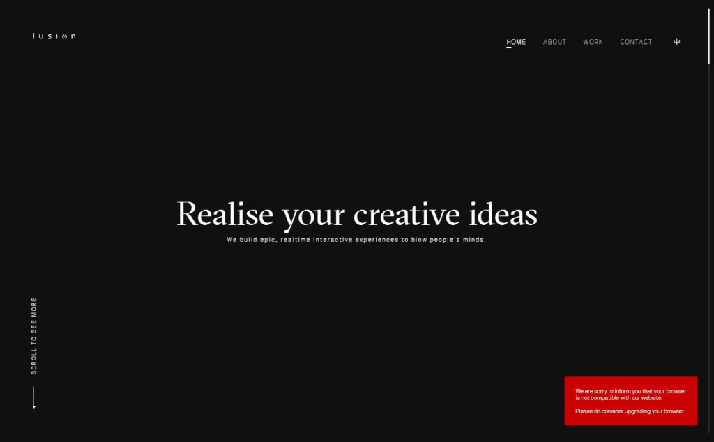 Black and Red Color Web Site Design Inspirations 17