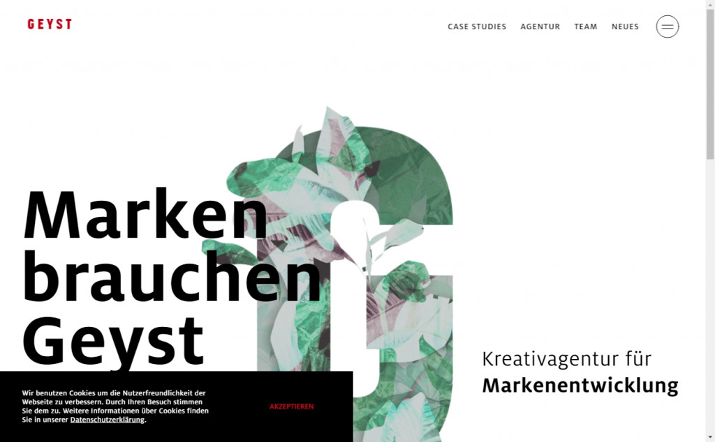 Beautifully Designed Light Websites 17
