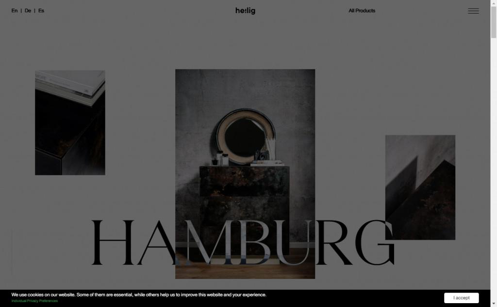 Gorgeous Black Web Designs for Inspiration 17
