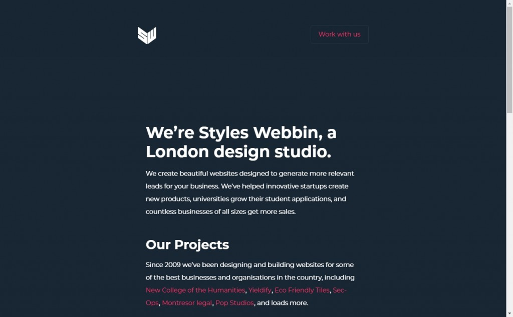 Blue and Red Color Website Design Inspirations 17
