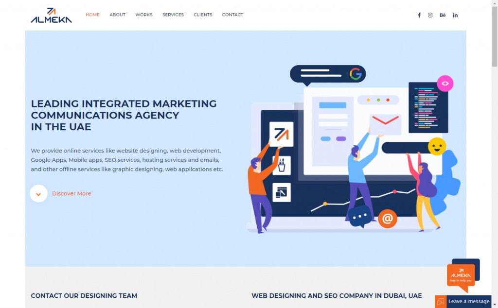 White and Blue Website Design Inspirations 18