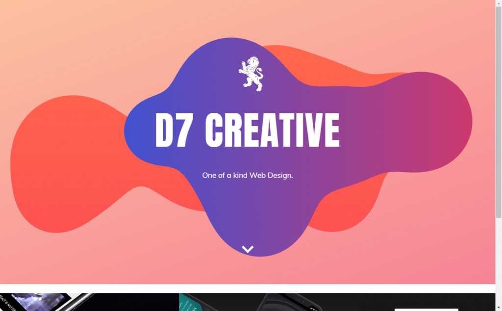 Wonderful Blue and Purple Web Page Designs for Inspiration 18