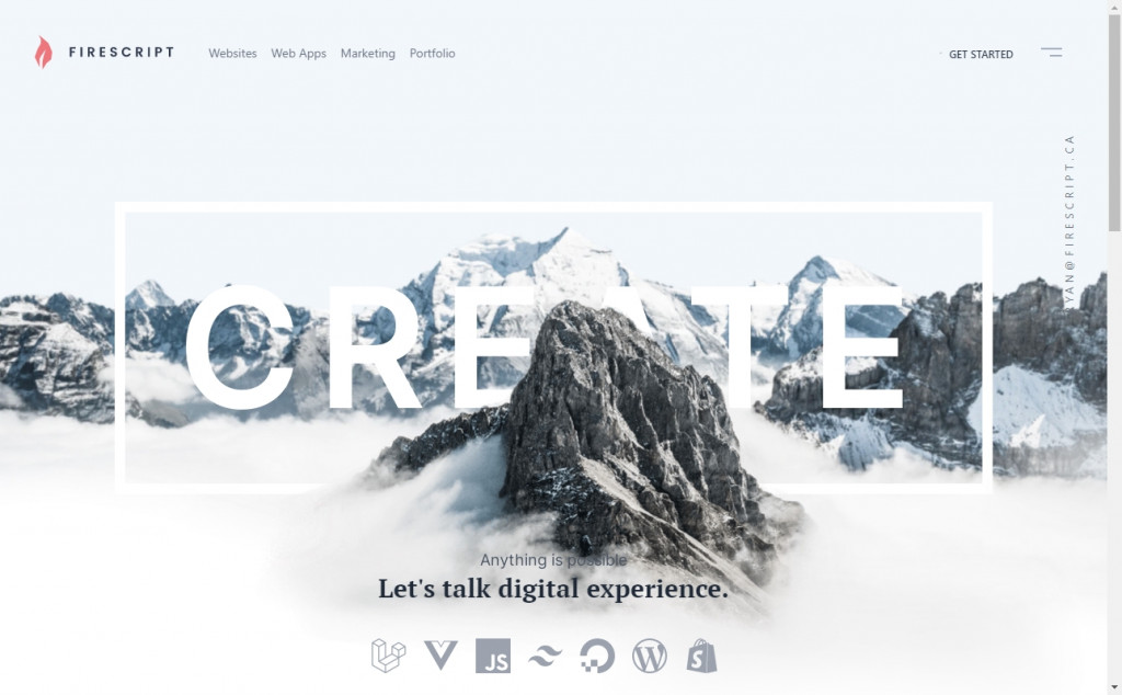 Blue and Grey Color Web Design Inspirations 18