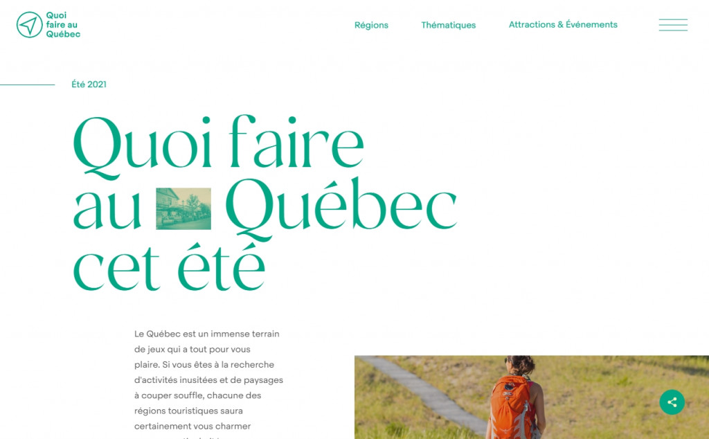 20 Beautiful Green Web Designs for Inspiration 25