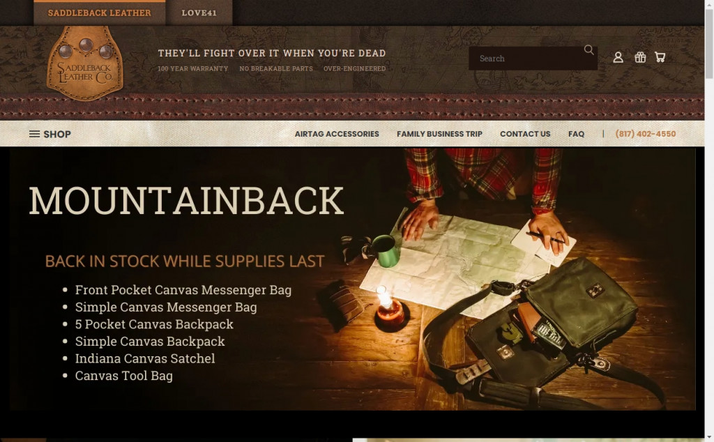 Chocolate Website Designs with Great Color Strategies 27