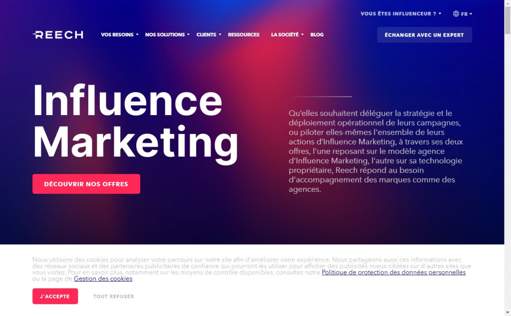 Blue and Red Color Website Design Inspirations 26