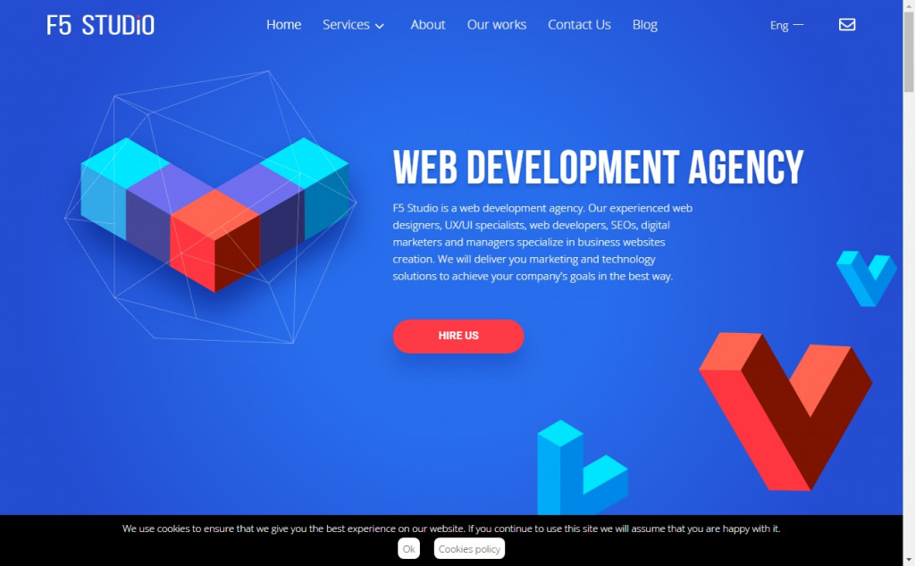 Wonderful Blue and Pink Web Designs for Inspiration 26