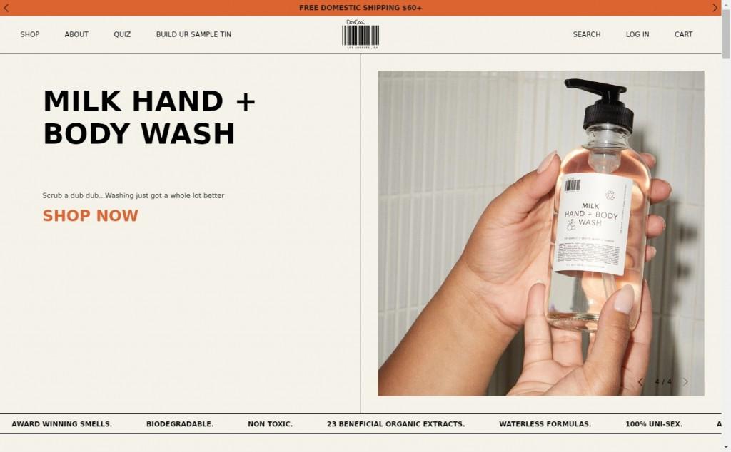 12 Beautifully Designed Orange Websites 21