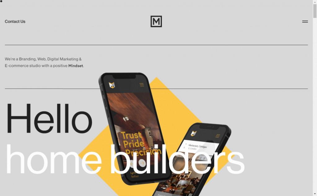 Grey Website Design Inspirations 27