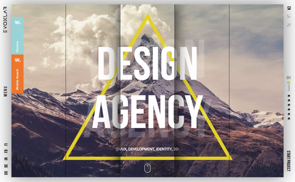 White and Gold Website Designs with Wonderful Color Techniques 28