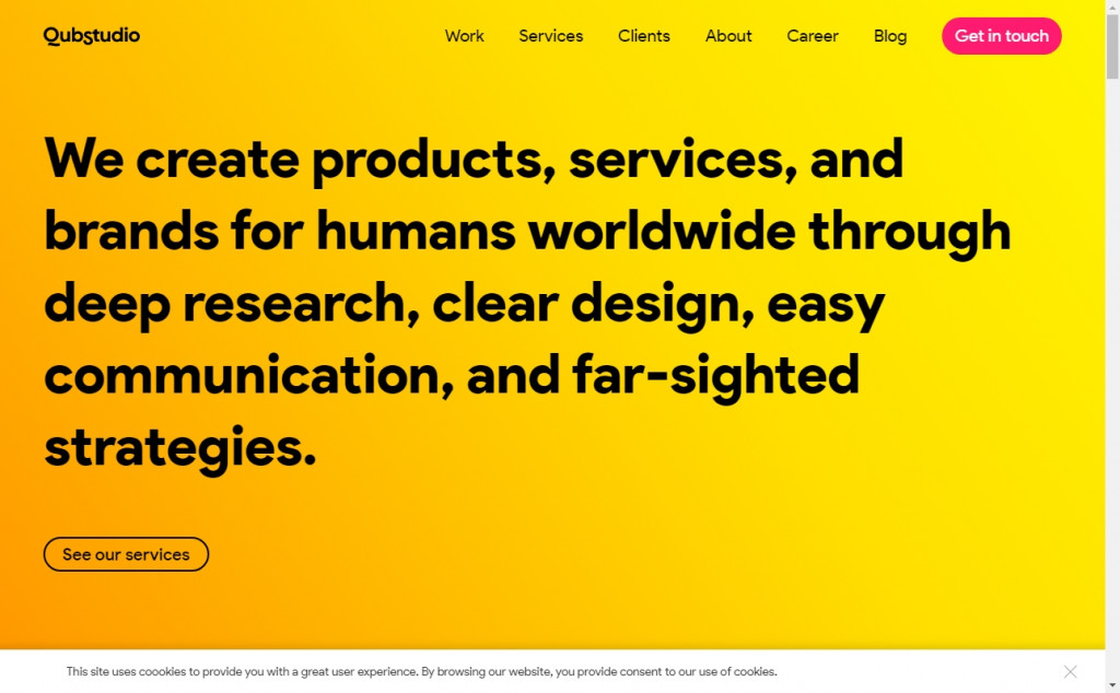 Gold Web Page Design Inspirations 25