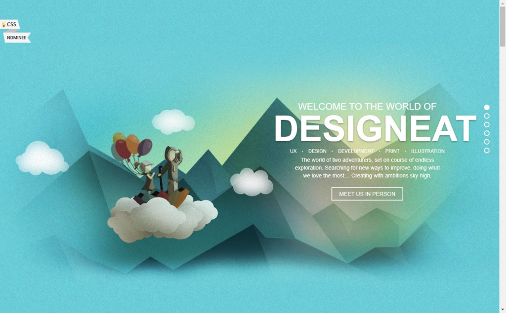White and Blue Website Design Inspirations 29