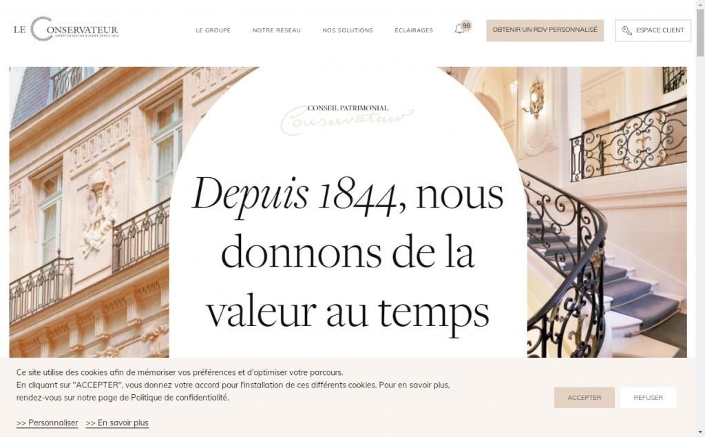 16 Beautifully Designed Brown Websites 23