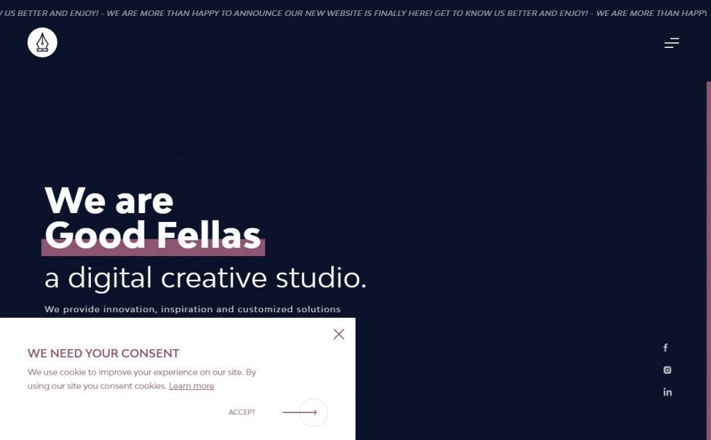 Purple Website Designs with Amazing Color Strategies 30