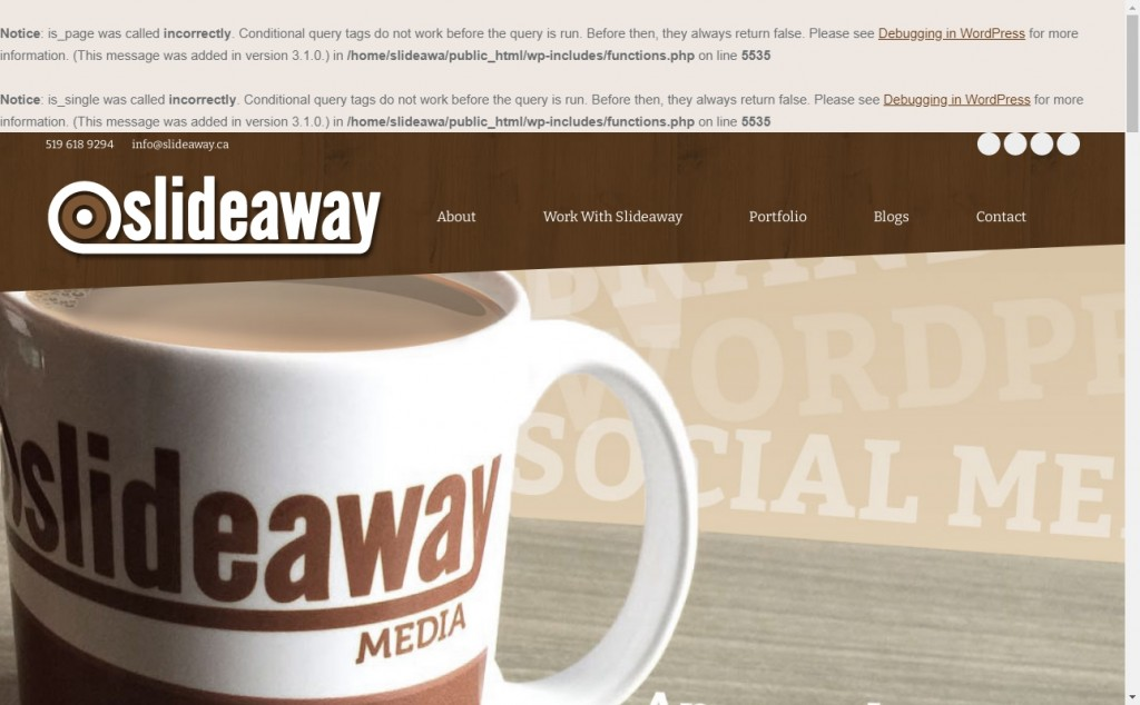 Chocolate Website Designs with Great Color Strategies 30