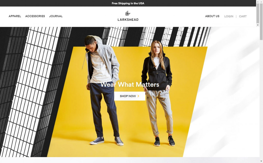 Gold Web Page Design Inspirations 26