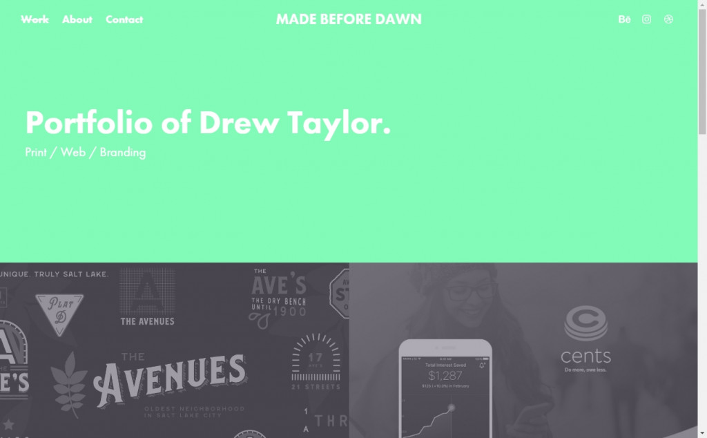 Lime Web Page Design Inspirations 27