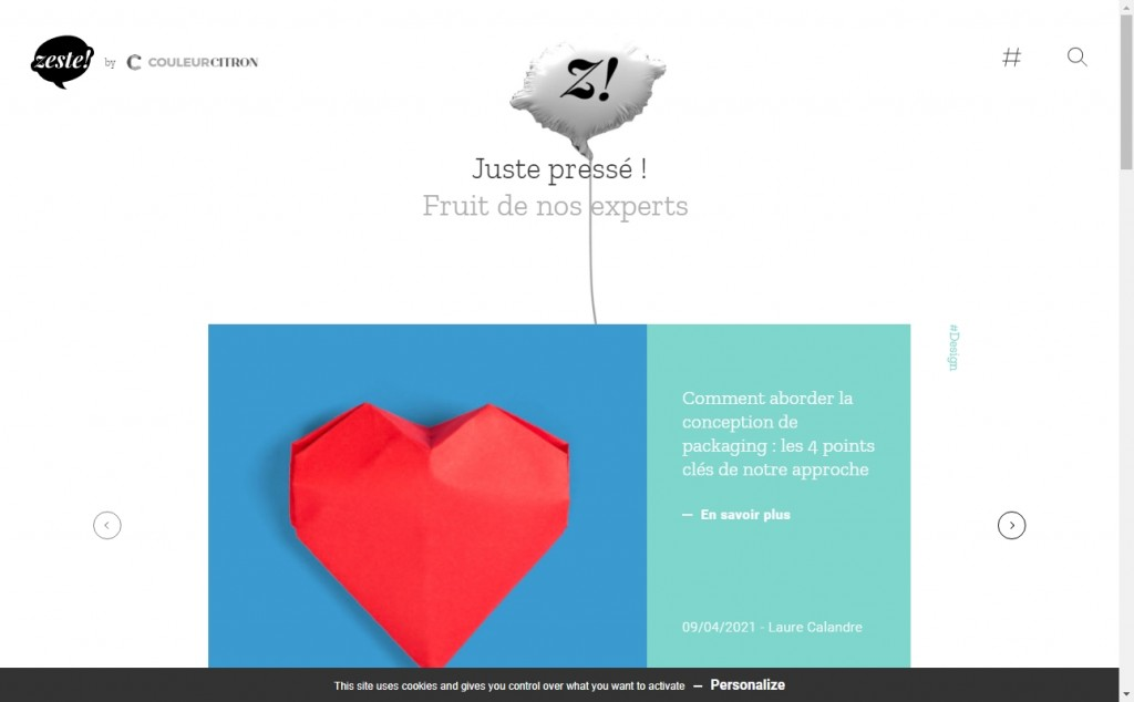 Beautifully Designed Light Websites 24