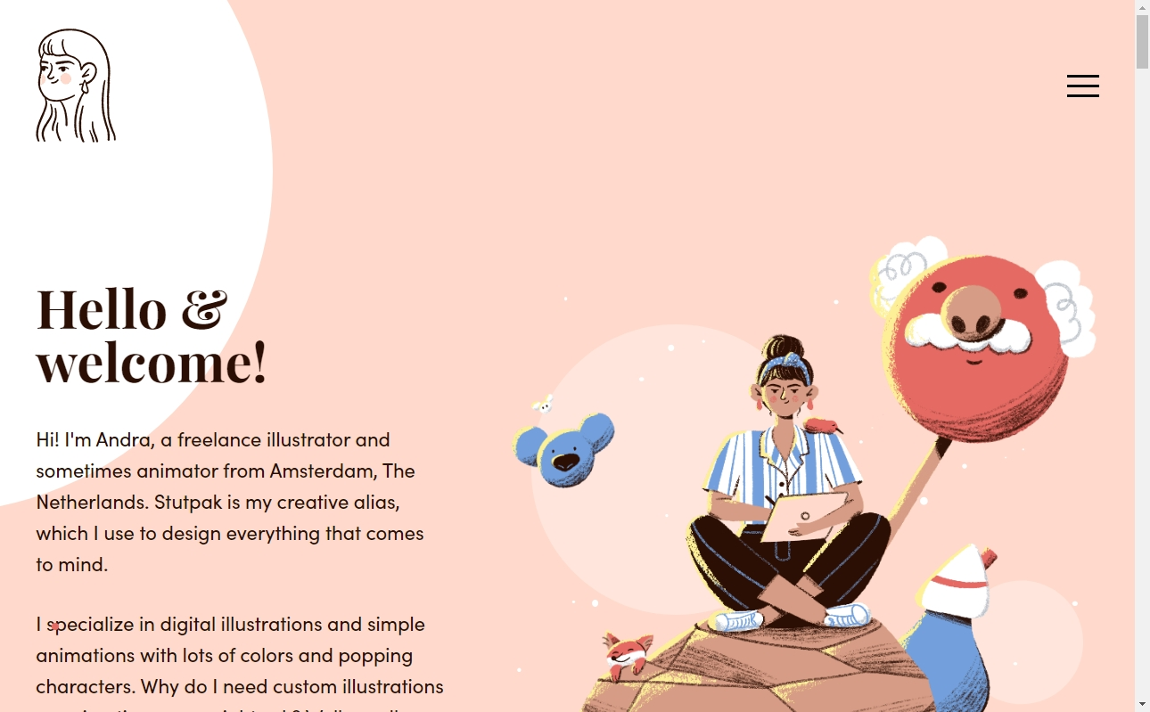 Pink Website Designs with Amazing Color Strategies 23