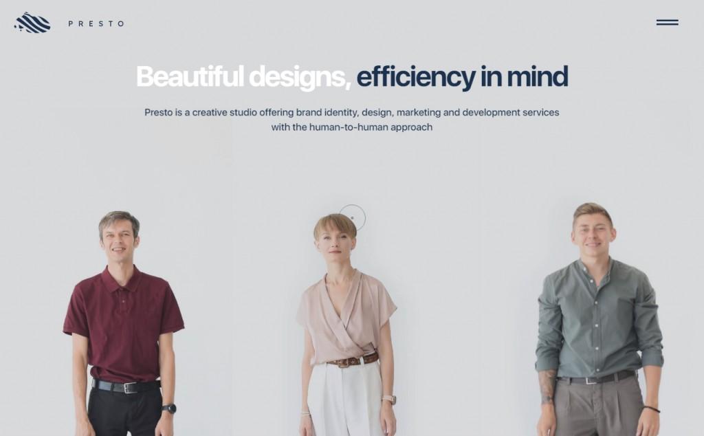 12 Beautifully Designed Blue Websites 23