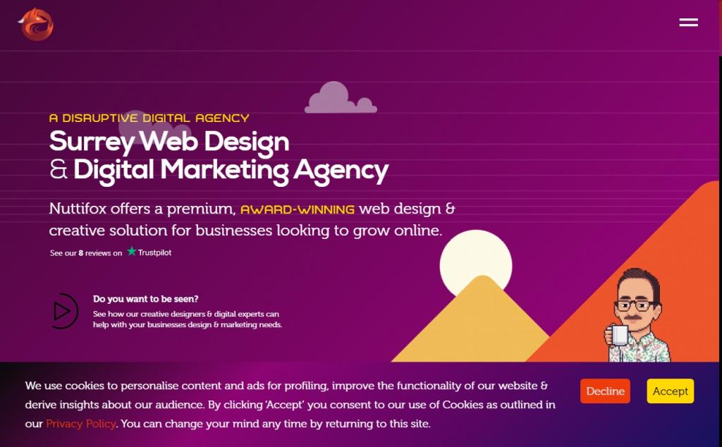 Purple Website Designs with Amazing Color Strategies 34