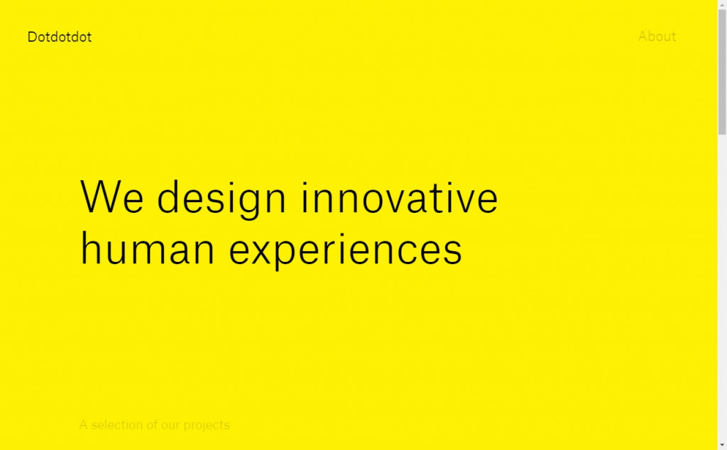 Gold Web Page Design Inspirations 17
