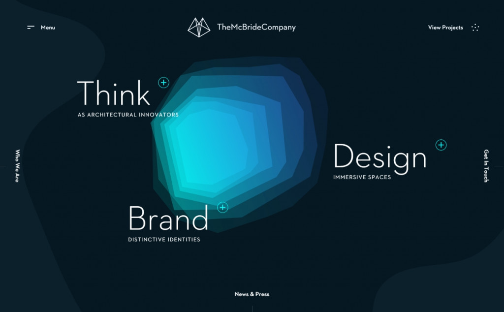 The Best Indigo Websites with Great Color Strategies 19
