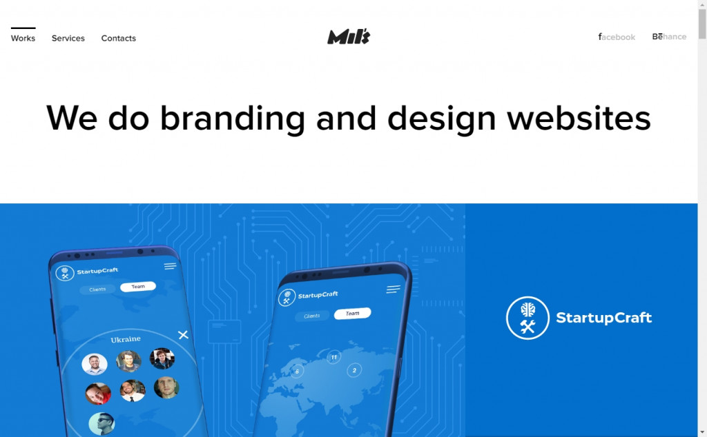 Navy Blue Color Web Design Inspirations 19