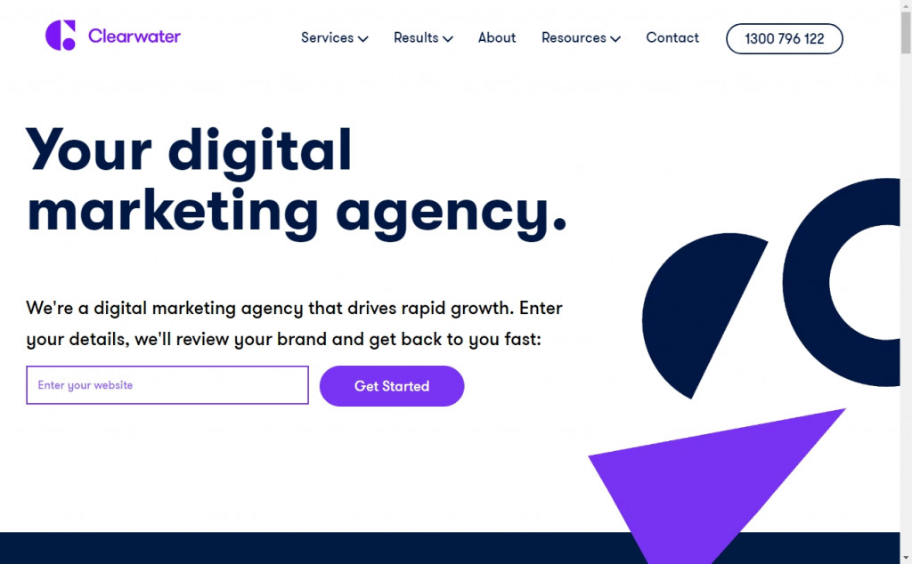 Wonderful Blue and Purple Web Page Designs for Inspiration 19