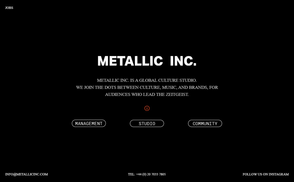 Black and Red Color Web Site Design Inspirations 19