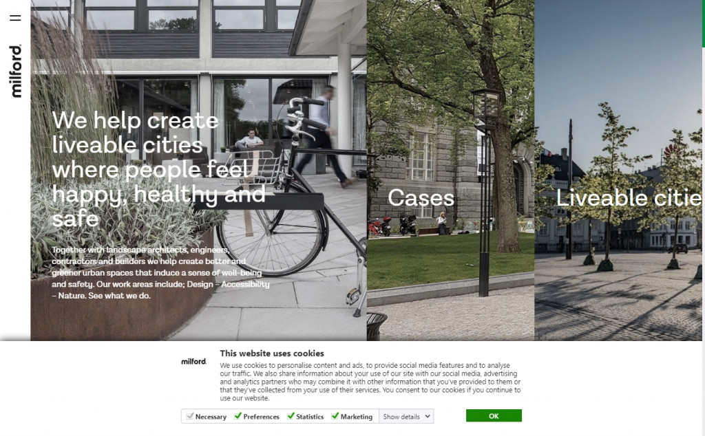 20 Beautiful Green Web Designs for Inspiration 33
