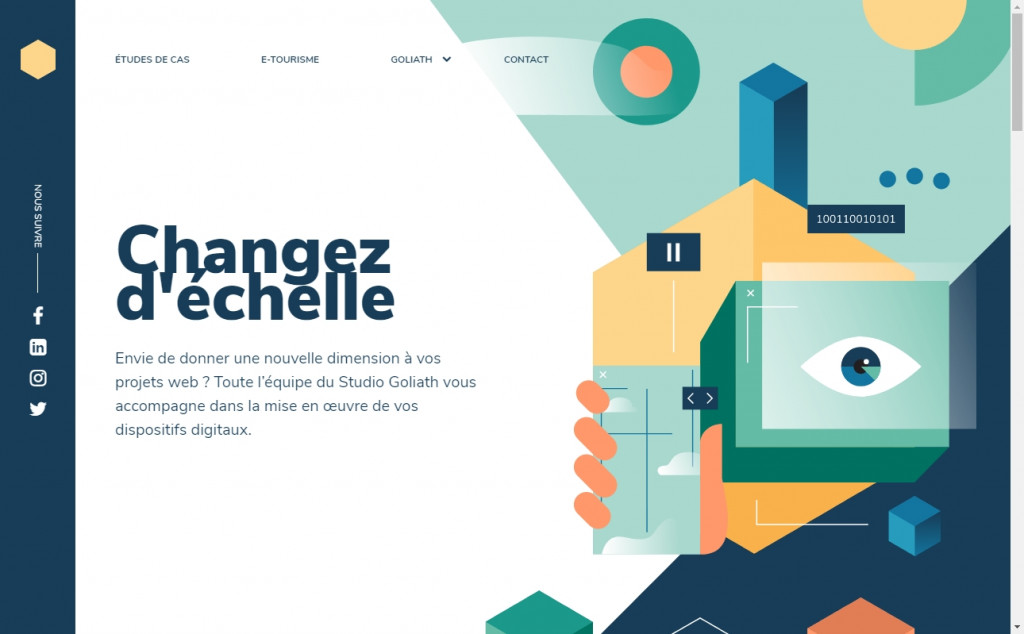 Yellow Website Designs with Wonderful Color Techniques 24