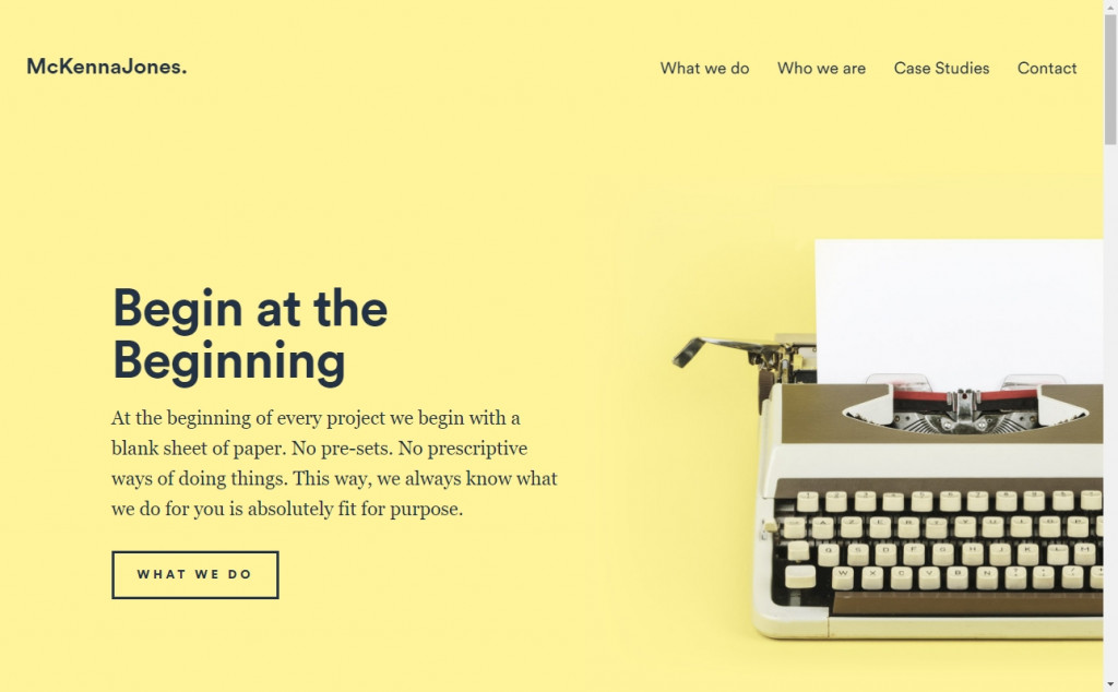 Gold Web Page Design Inspirations 33