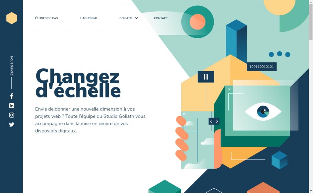 12 Beautifully Designed Blue Websites 27