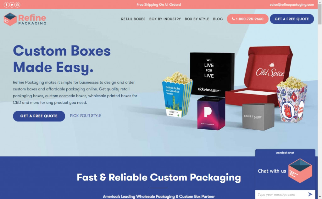 The Best Indigo Websites with Great Color Strategies 37