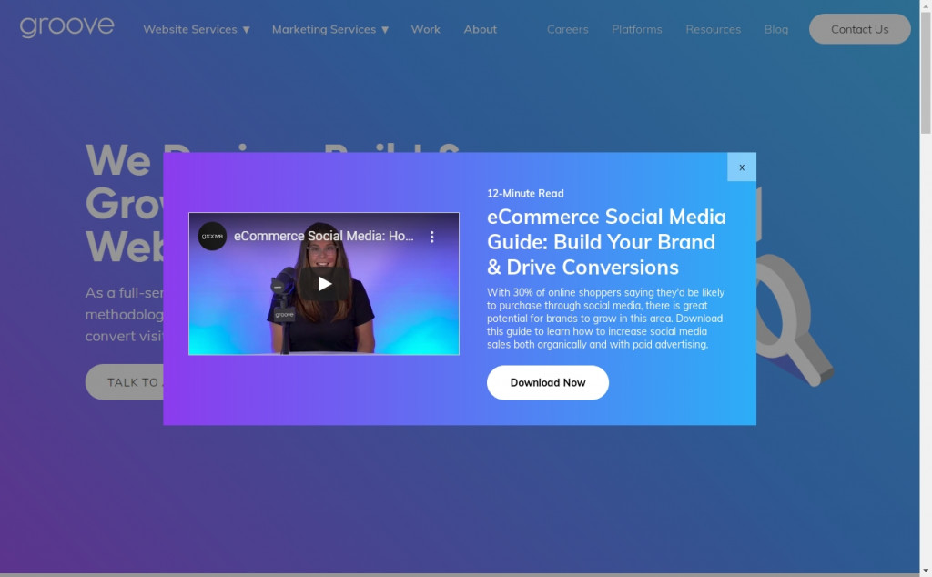 The Best Indigo Websites with Great Color Strategies 38