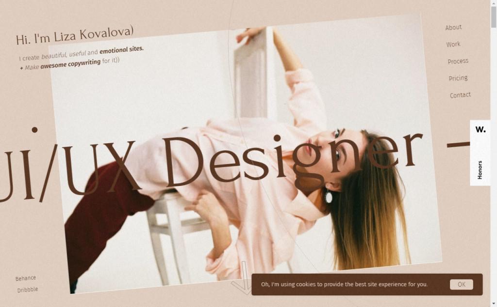 16 Beautifully Designed Brown Websites 30