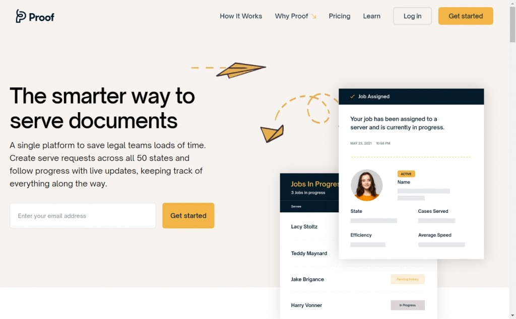 Yellow Website Designs with Wonderful Color Techniques 29