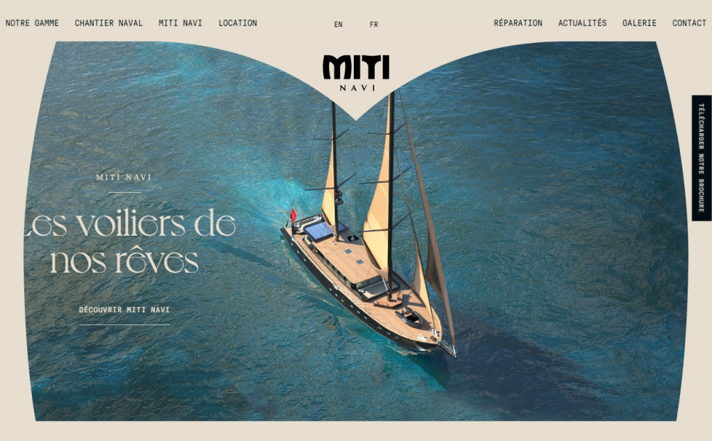 Beige Web Page Designs To Inspire You 20