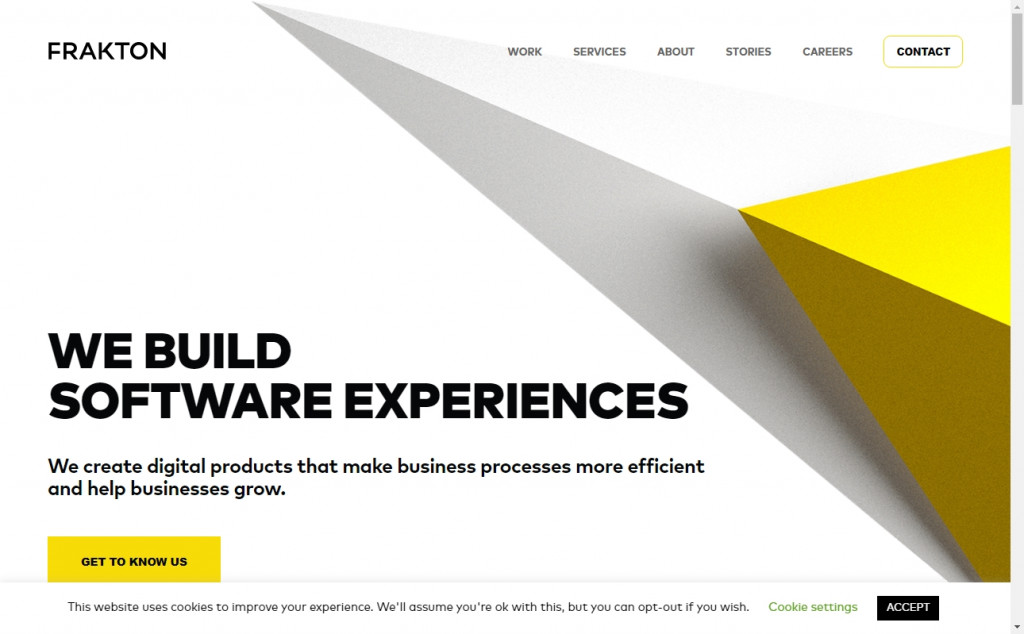 Gold Web Page Design Inspirations 18