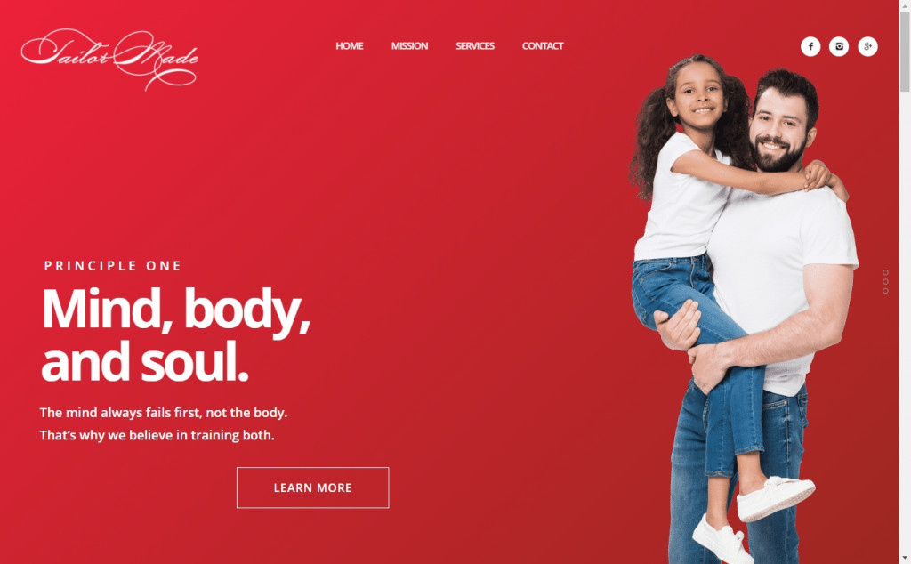 Red and Yellow Color Web Page Design Inspirations 20