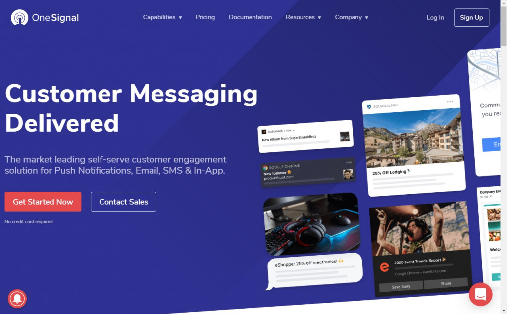 Wonderful Blue and Pink Web Designs for Inspiration 20