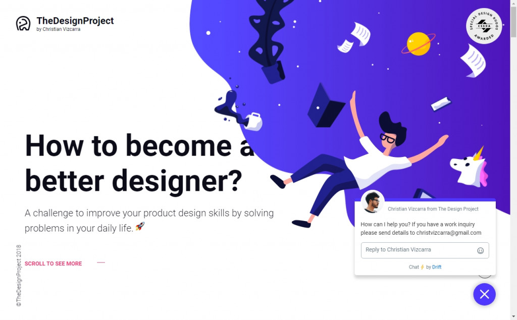 Wonderful Blue and Purple Web Page Designs for Inspiration 20